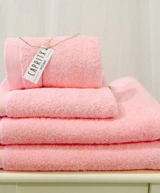 Toalla Serie Palace rosa bebe