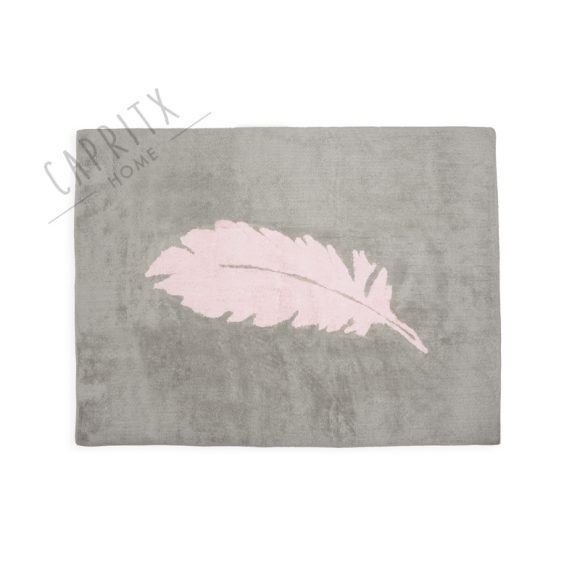 alfombra-lavable-pluma-gris-rosa
