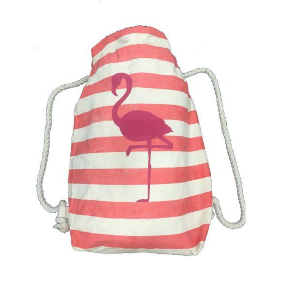 mochila-rayas-rosa-flamenco-capritxhoe