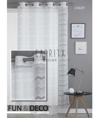 cortina confeccionada Colet
