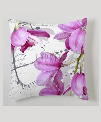 Cojín Estampación Digital Orquídea.