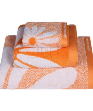 toalla-baño-margarita-naranja-agatha-ruiz-prada-gamanatura