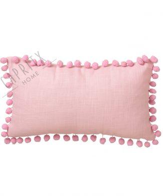 cojin-rosa-pompones-30x50-caprithome