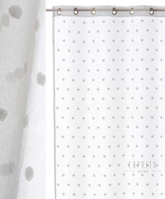 cortina-visillo-confeccionada-pompon-capritxhome
