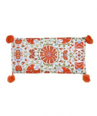 cojin-60x30-floral-pompon-naranja-capritxhome