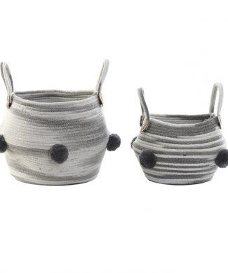 cesto-pompones-algodon-blanco-gris-capritxhome