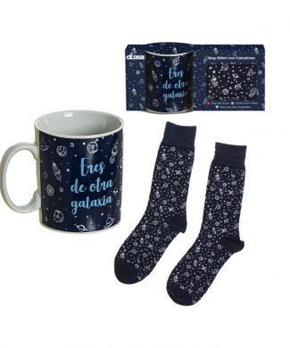 set-taza-calcetines-astronauta-capritxhome