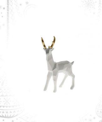 reno-blanco-cuernos-dorado-pequeño-capritxhome