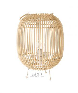 800420 LAMPARA RATAN PALOS NATURAL