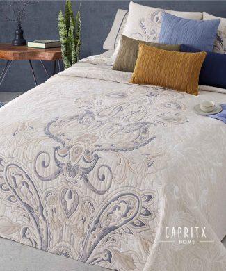 COLCHA JACQUARD PAISLEY- MANTEROL - CAPRITX HOME