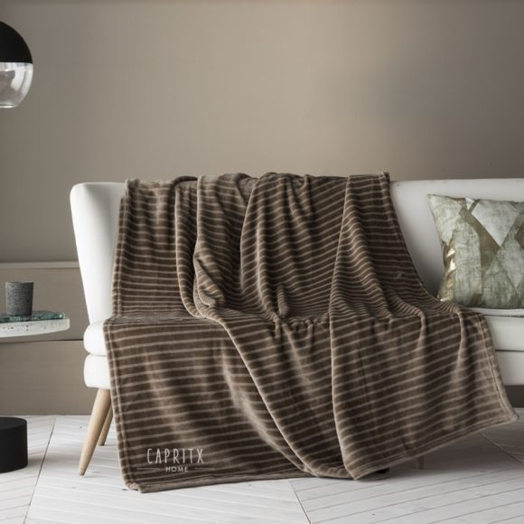 PLAID KANY TAUPE - FUNDECO - CAPRITX HOME